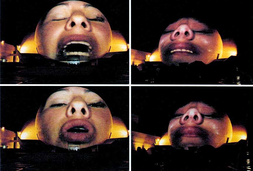 """Krzysztof Wodiczko, """"The Tijuana Projection"""", 2001"""