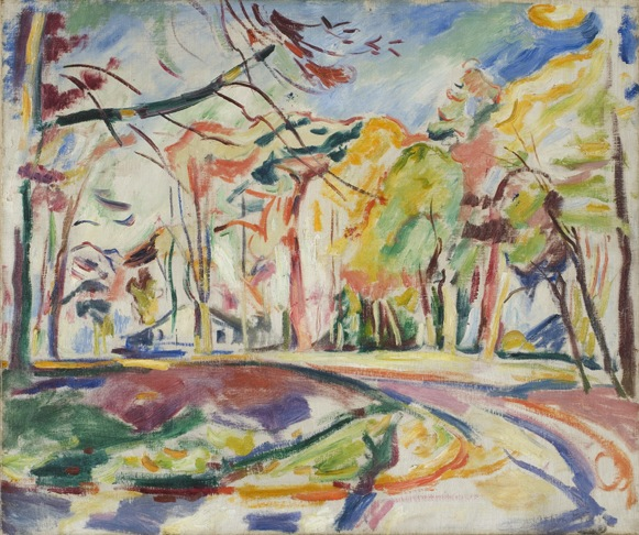 Othon Friesz, Landscape, 1907. Oil on canvas. 18 x 21 1/2 in. Museum purchase, 1953.18
