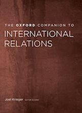 Oxford Companion to International Relations