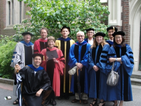 English Faculty at Commencement