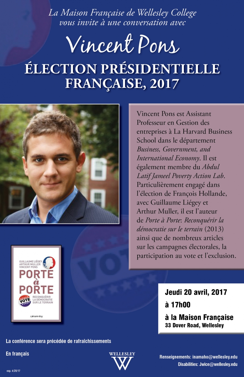 Pons: Election Presidentielle Francaise 2017