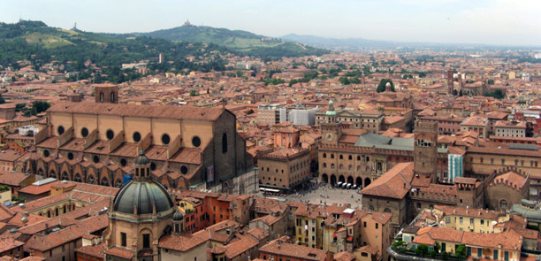 panoramic view of Bologna by Steffan Brinkmann