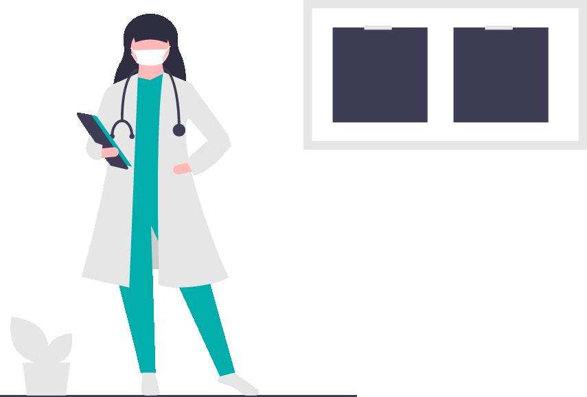 graphic of a nurse