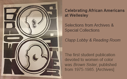Celebrating African Americans at Wellesley