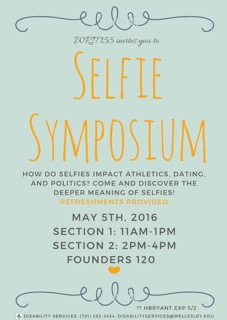 Selfie Symposium invitation
