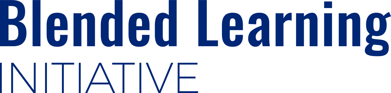 Blended Learning Initiative text and logo