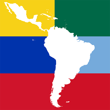 South America and Mexico