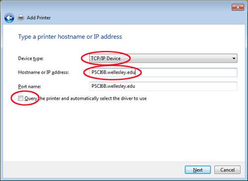 Windows 7 Printing   Wellesley College