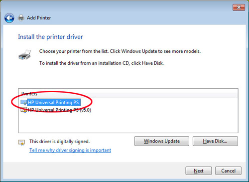Windows 2012 server setup print server for both 32bit & 64bit os.