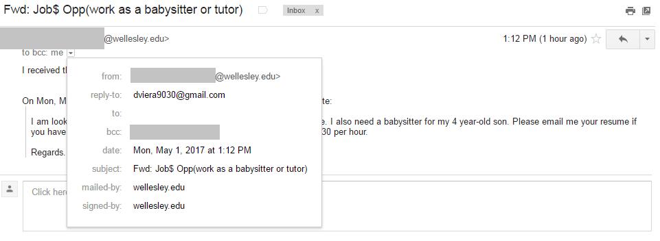 Phishing | Wellesley College