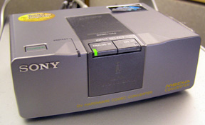 Sony box that allows communication between external media equipment and computer