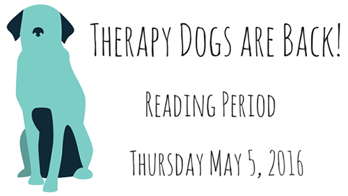 Therapy Dogs May 5