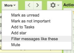 Filter messages