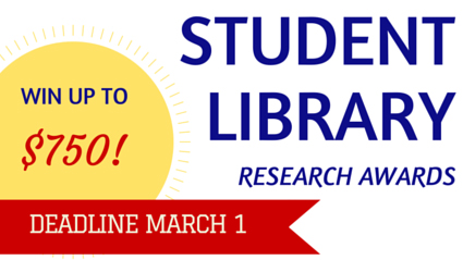 Student Library Research Award