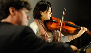 Violinist in the Chamber Music Society