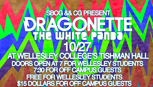 promotion graphic for fall frenzy concert