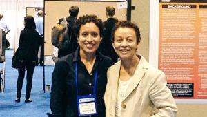 Michelle Porche and Lisa Fortuna