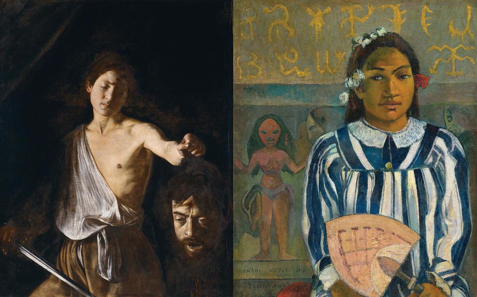 Caravaggio and Gauguin