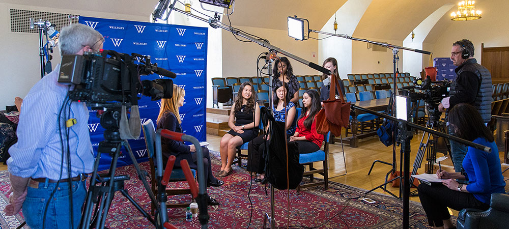 CNN interviewed Wellesley students on their views of election 2016