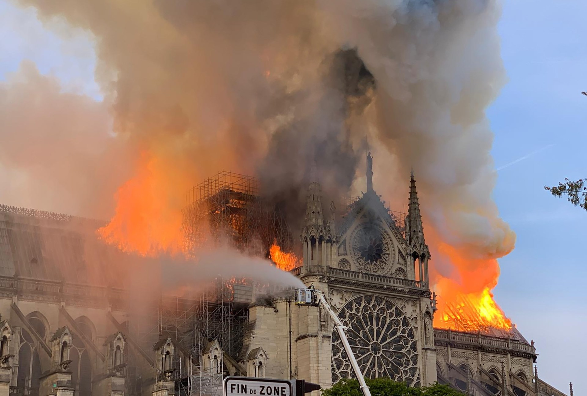 Far right agitators and conspiracy theorists have seized on Monday's horrific fire at the famed Notre Dame cathedral in Paris