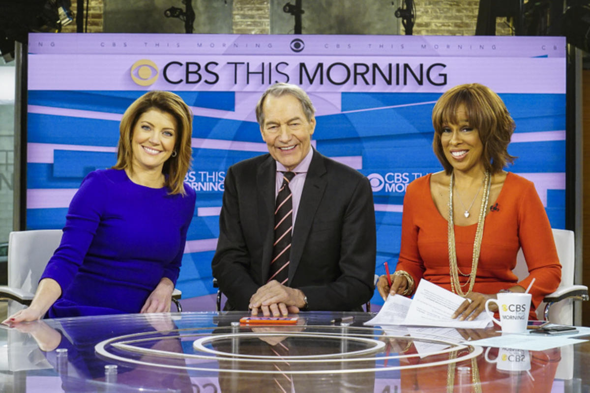 Charlie Rose fired from CBS after charges of sexual harassment