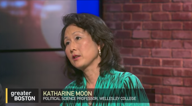 WGBH TV's Greater Boston includes Wellesley's Kathy Moon on a panel to discuss party loyalty in the Trump Administration