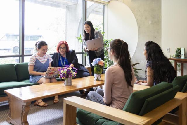 Roberta Schotka trains peer educators