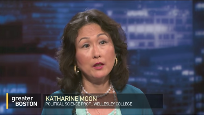 Wellesley's Kathy Moon on WGBH-TV's Greater Boston