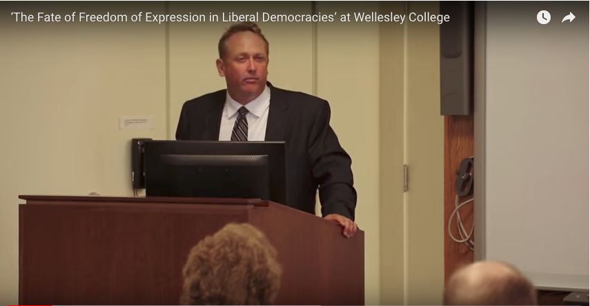 FIRE video of freedom of expression conference at Wellesley