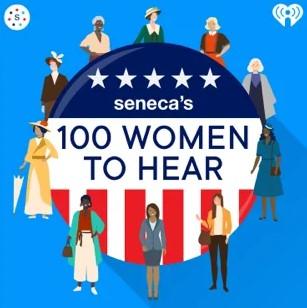Seneca's 100 Women to Hear logo