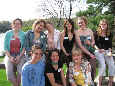 photo of Peace & Justice Studies students