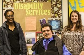 Disability Services staff welcome students