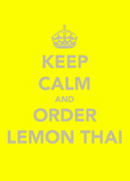 Lemon Thai Menu