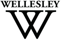 Wellesley College logo black