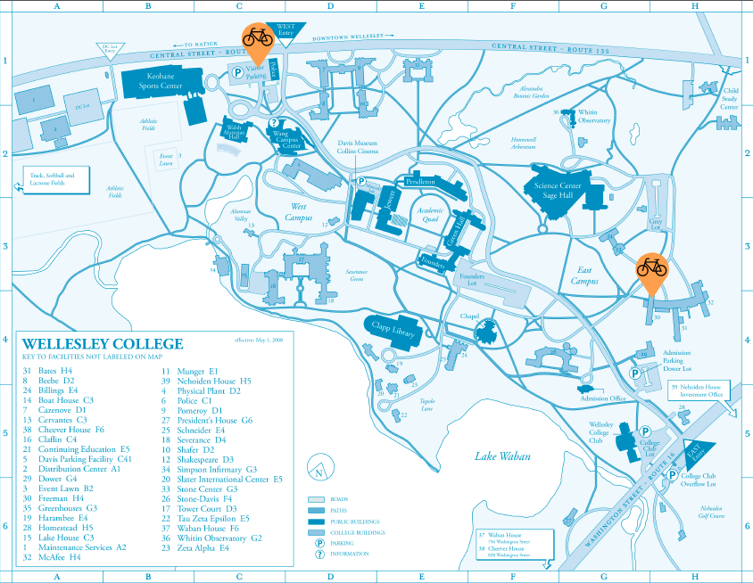 Wellesley College Map Station Map | Wellesley College