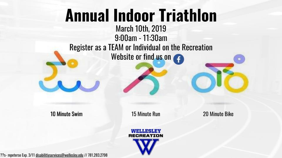 Indoor Triathlon | Wellesley College