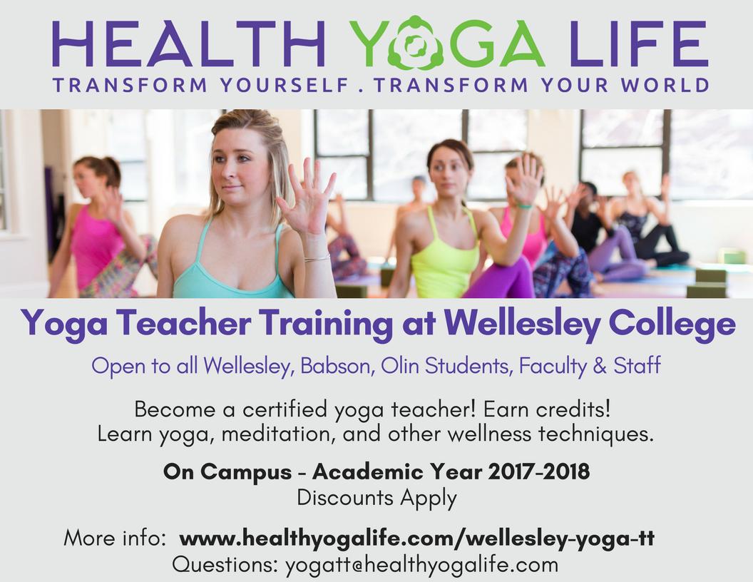 Yoga Certification Wellesley College