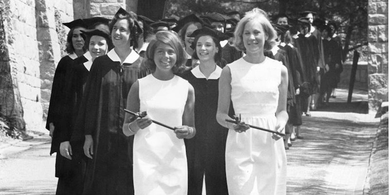 1967 Baccalaureate Procession
