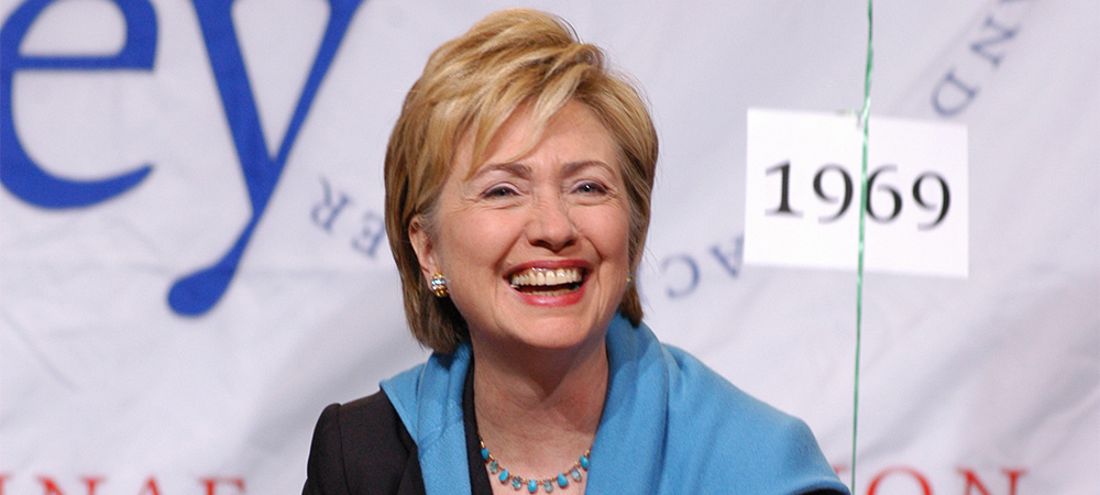 Hillary Rodham Clinton '69, 2016 presidential candidate