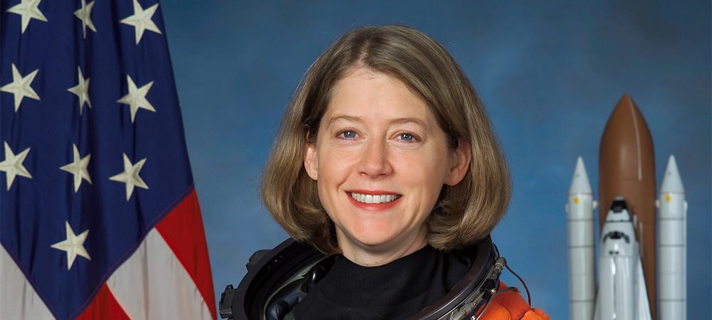 Pamela Melroy '83, Former astronaut/NASA Space Shuttle pilot and commander