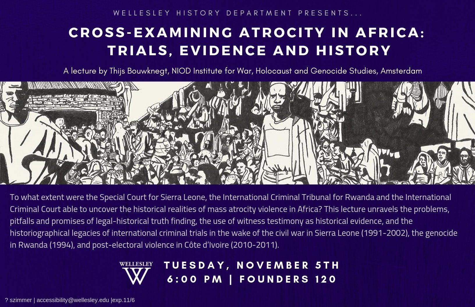 Cross Examining Atrocity in Africa