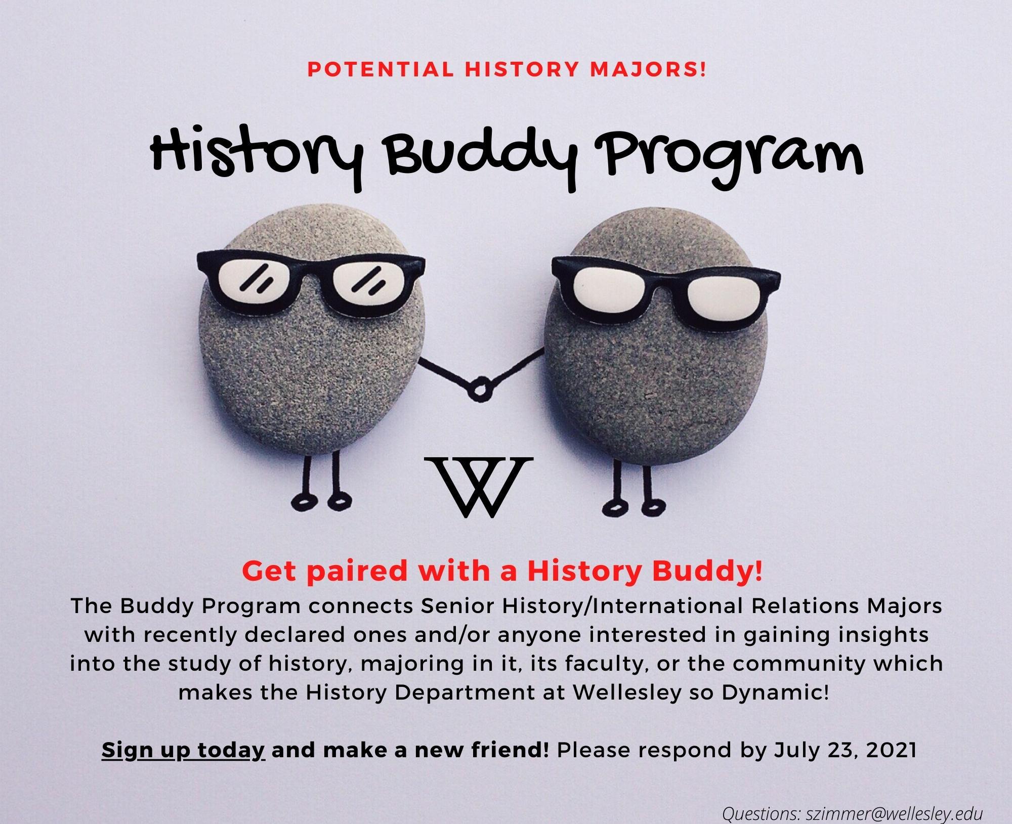 History Buddy Program