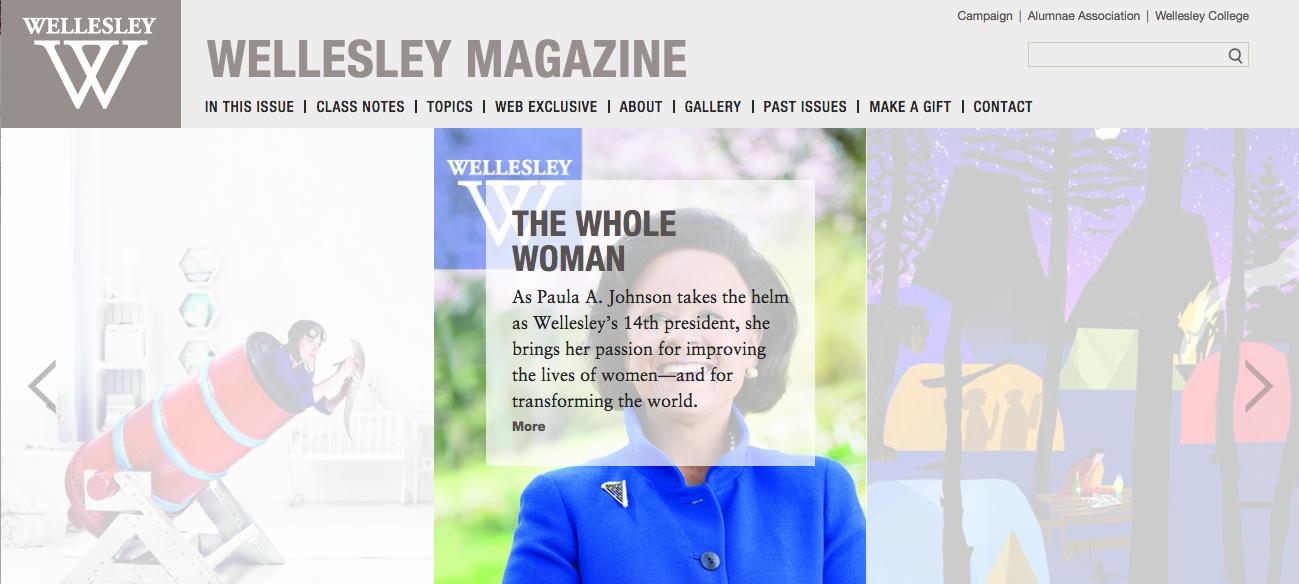 The Wellesley Magazine