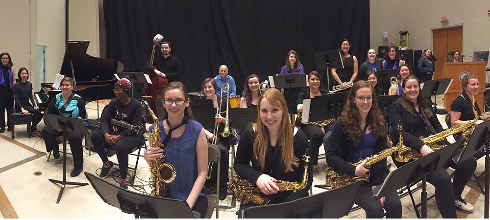 Wellesley BlueJazz Big Band Showcase - Friday, 5/7 at 7:30pm in Jewett Auditorium