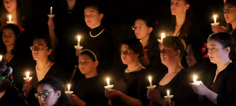 The annual Baum Memorial Concert by the Wellesley College Choir perform on Saturday, 4/10 at 7:30pm.
