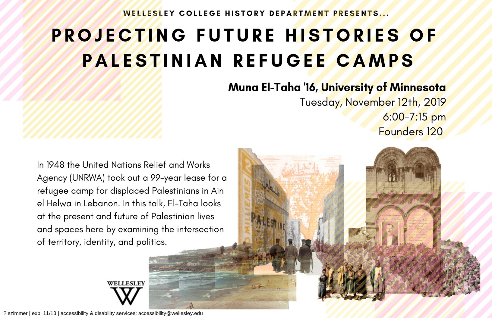 Projecting Future Histories of Palestinian Refugee Camps