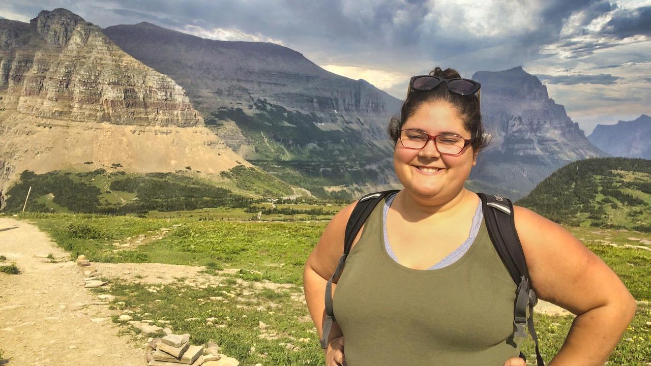 Dania Figueroa '17, a biochemistry major who worked in Don Elmore's lab