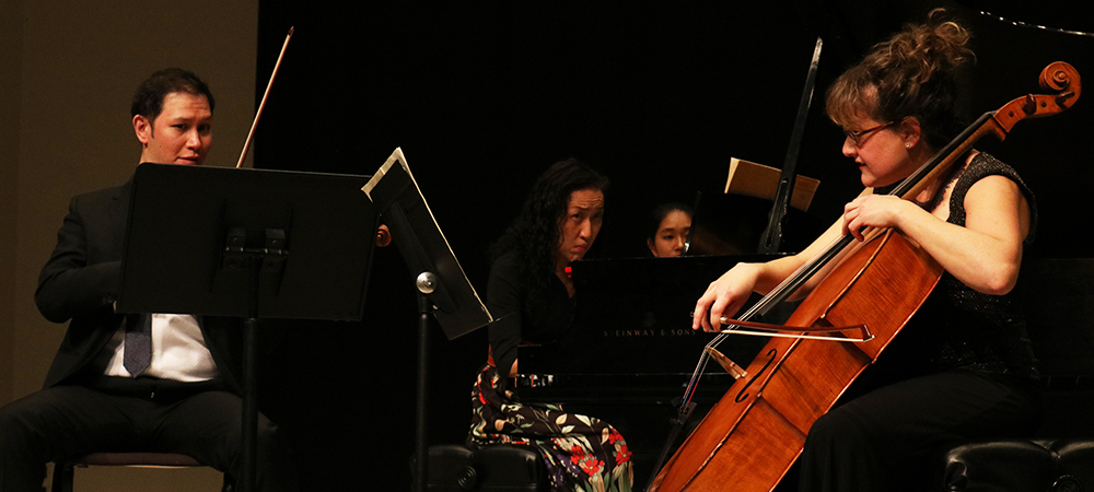 The Classical Faculty Music Concert Premieres on Saturday, March 27 at 7:30pm.