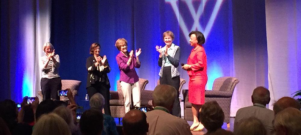 Three Presidents Panel at Reunion 2016