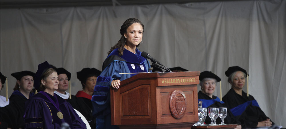 Melissa Harris-Perry Addresses the Crowd